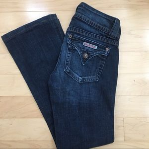Hudson Signature Bootcut Flat Pocket Jeans
